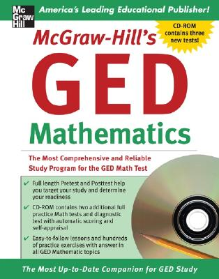 McGraw-Hill's GED Mathematics: The Most Comprehensive and Reliable Study Program for the GED Math Test - Howett, Jerry