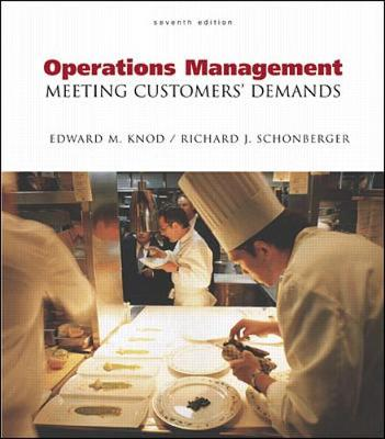 Operations Management: Meeting Customer's Demands with Student CD-ROM - Schonberger, Richard, and Knod, Edward M, Jr., and Knod Edward