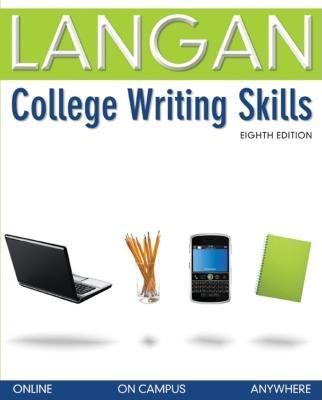 College Writing Skills - Langan, John