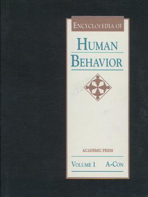 Encyclopedia of Human Behavior, Three-Volume Set: 1-3 - Ramachandran, V S, M.D., Ph.D. (Editor)