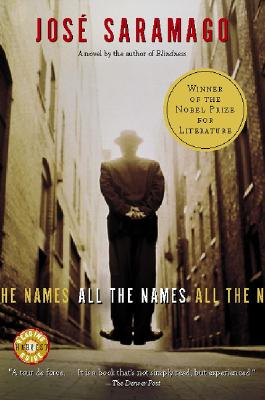 All the Names - Saramago, Jose, and Costa, Margaret Jull (Translated by)