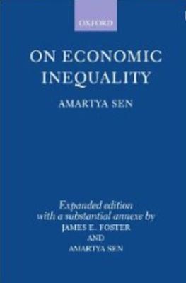On Economic Inequality - Sen, Amartya K, and Foster, James E (Designer)