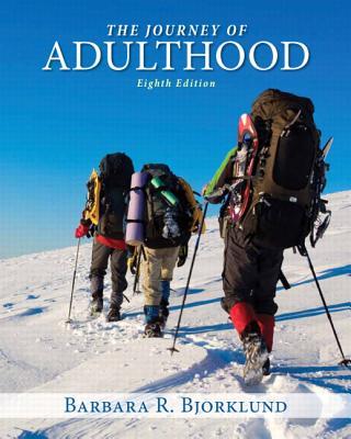 Journey of Adulthood - Bjorklund, Barbara R.