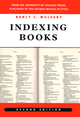 Indexing Books - Mulvany, Nancy C