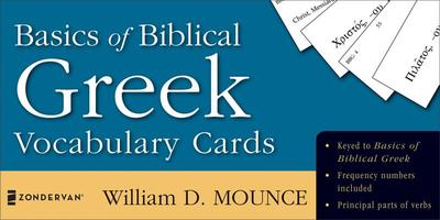 Basics of Biblical Greek Vocabulary Cards - Mounce, William D.