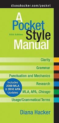 A Pocket Style Manual - Hacker, Diana