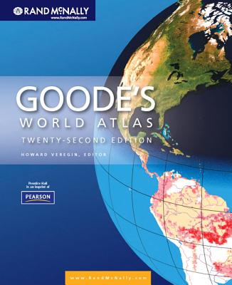 Goode's World Atlas - Veregin, Howard, PH.D. (Editor)