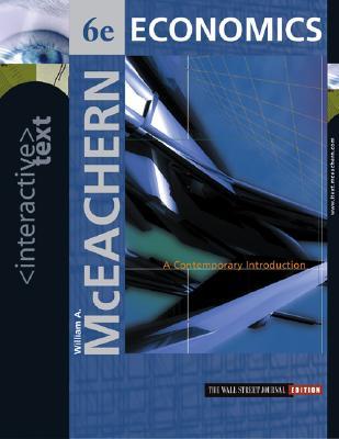 Interactive Text: Economics: A Contemporary Introduction - McEachern, William A