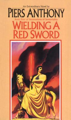 Wielding a Red Sword - Anthony, Piers