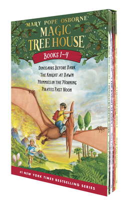 Magic Tree House #1-4 - Osborne, Mary Pope