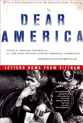 Dear America: Letters Home from Vietnam - Edelman, Bernard (Editor)
