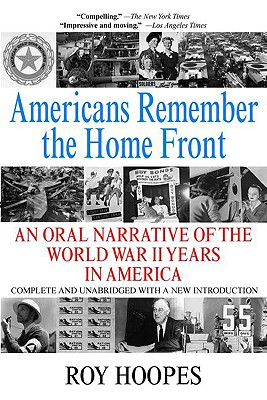 Americans Remember the Homefront - Hoopes, Roy