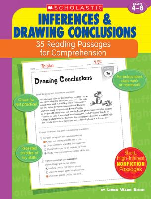 Inferences & Drawing Conclusions: Grades 4-8 - Beech, Linda Ward