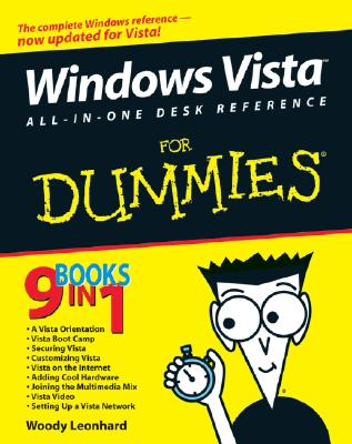 Windows Vista All-In-One Desk Reference for Dummies - Leonhard, Woody