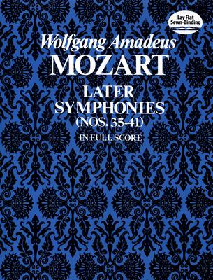 Later Symphonies - Mozart, Wolfgang Amadeus (Composer)