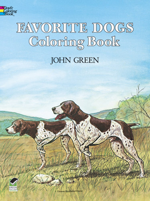 Favorite Dogs Coloring Book - Green, John, and Robertson, Soren (Introduction by)