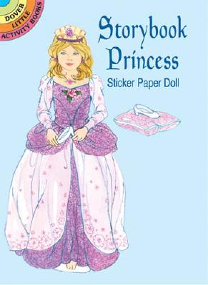 Storybook Princess Sticker Paper Doll - Steadman, Barbara