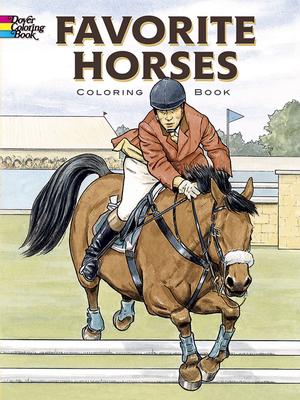 Favorite Horses: Coloring Book - Green, John