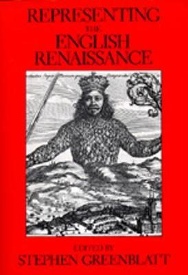Representing the English Renaissance - Greenblatt, Stephen (Editor)