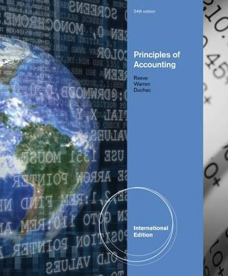 Principles of Accounting - Duchac, Jonathan E., and Warren, Carl, and Reeve, James