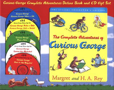 Curious George Complete Adventures Deluxe Gift Set - Rey, Margret, and Rey, H A