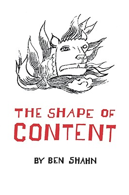 The Shape of Content - Shahn, Ben