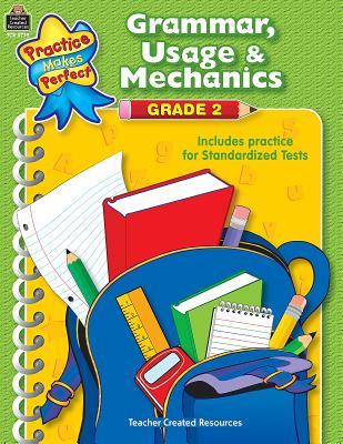 Grammar, Usage & Mechanics Grade 2 - Hart, Melissa