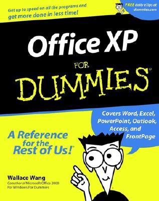 Office XP for Dummies - Wang, Wally, and Wang, Wallace
