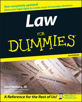 Law for Dummies - Ventura, John