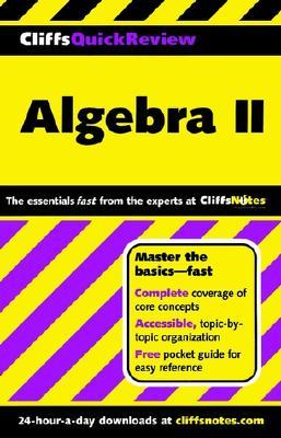 Algebra II - Cliffs Notes (Creator), and Kohn, Edward, and Herzog, David Alan