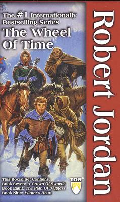 The Wheel of Time, Boxed Set III, Books 7-9: A Crown of Swords, the Path of Daggers, Winter's Heart - Jordan, Robert, and Jordan