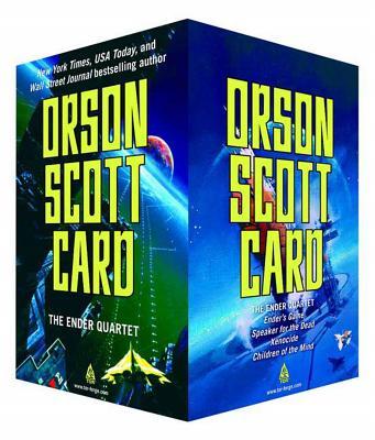 The Ender Quartet Set: Ender's Game, Speaker for the Dead, Xenocide, Children of the Mind - Card, Orson Scott