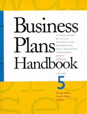 Business Plans Handbook: v. 5 - Gale Group, and Harmer, William H