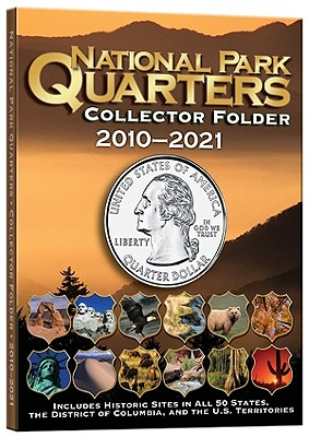 National Park Coin Single Mint Folder 2010-2021 - Publishing, Whitman