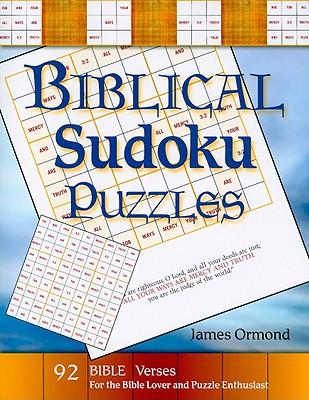 Biblical Sudoku Puzzles - Ormond, James