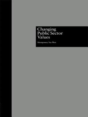 Changing Public Sector Values - Van Wart, Montgomery, and Wart, Montgomery, and Wart Montgomery