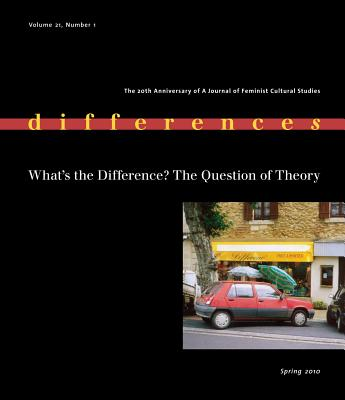 What's the Difference?: The Question of Theory - Weed, Elizabeth, Dr. (Editor), and Rooney, Ellen (Editor)