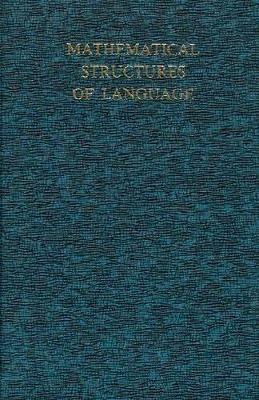 Mathematical Structures of Language - Harris, Zellig S.