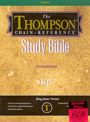 Thompson Chain Reference Bible-KJV - Kirkbride Bible & Technology (Creator)