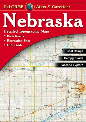 Nebraska - Delorme 2nd - Rand McNally, and Delorme Publishing Company, and DeLorme