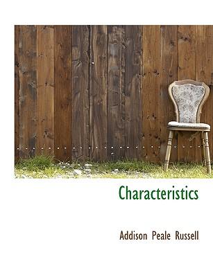 Characteristics - Russell, Addison Peale