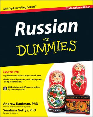 Russian for Dummies - Kaufman, Andrew, and Gettys, Serafima