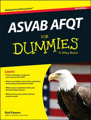 ASVAB AFQT for Dummies - Powers, Rod