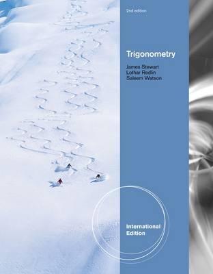 Trigonometry - Stewart, James