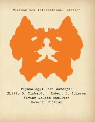 Psychology: Core Concepts - Zimbardo, Philip G., and Johnson, Robert L., and Hamilton, Vivian McCann
