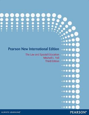The Law and Special Education - Yell, Mitchell L.