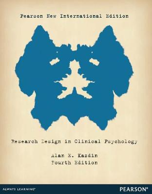 Research Design in Clinical Psychology - Kazdin, Alan E.