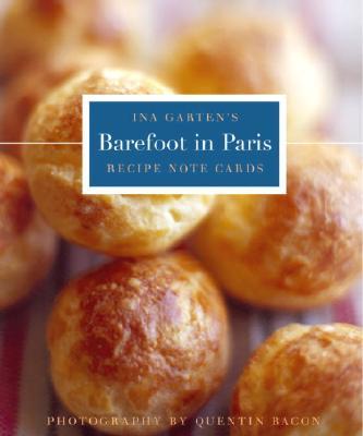 Barefoot Contessa in Paris Tri-Fold Recipe Note Cards - Garten, Ina