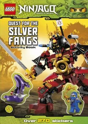 Lego Ninjago: Quest for the Silver Fangs Sticker Activity -