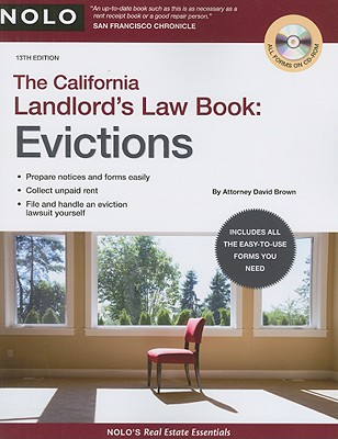 The California Landlord's Law Book: Evictions - Brown, David Wayne